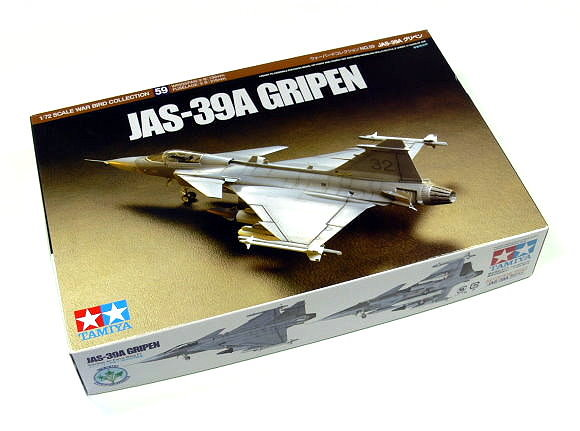 Tamiya Aircraft Model 1/72 Airplane JAS-39A Gripen Scale Hobby 60759
