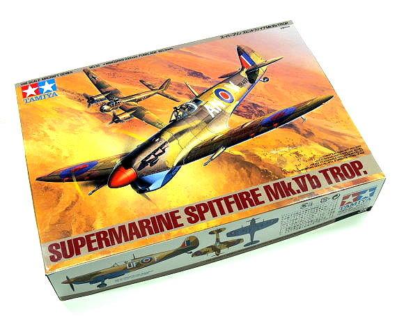 Tamiya Aircraft Model 1/48 Airplane Supermarine Spitfire Mk.Vb Trop Hobby 61035