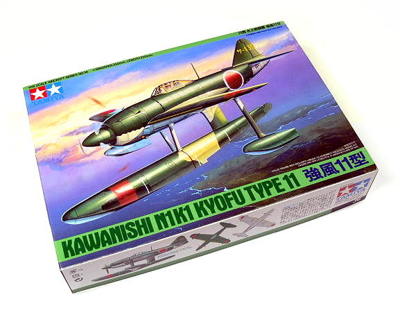 Tamiya Aircraft Model 1/48 Airplane Kawanishi N1K1 Kyofu Type 11 Hobby 61036