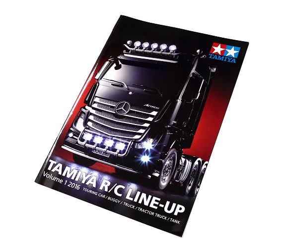 Tamiya RC Model Line Up Volume 1 2016 (English) 64402
