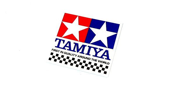 Tamiya RC Model Tamiya GP Sticker (S) 61mm x 58mm 66001