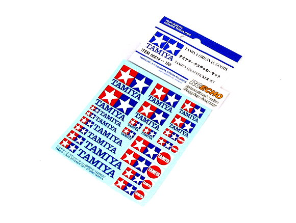 Tamiya RC Model Tamiya Logo Sticker Set 66614