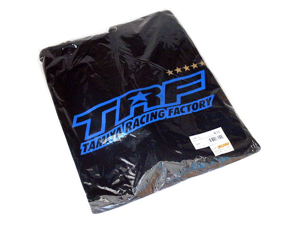 Tamiya RC Model TRF Hooded Black Sweatshirt (XLarge) 67051