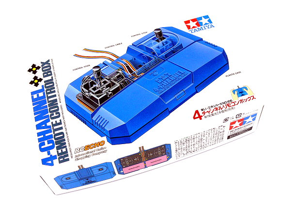 Tamiya Dynamic Model Educational 4-Channel Remote Control Box 70106