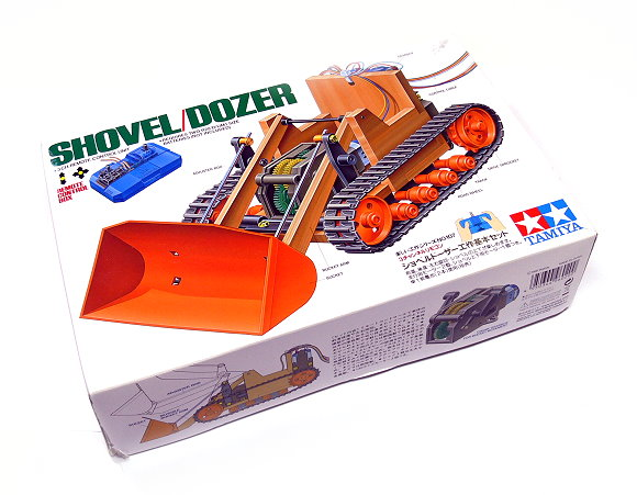Tamiya Dynamic Model Educational Shovel Dozer 70107