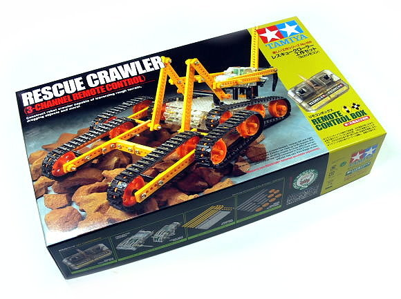 Tamiya Dynamic Model Educational Rescue Crawler (3-Channel Remote Control) 70169