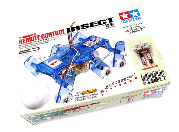 Tamiya ROBO Model Craft Mechanical 2 Channel Remote Control Insect Hobby 71107