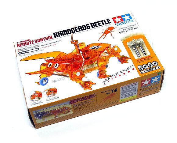 Tamiya ROBO Model Mechanical 2ch Remote Control Rhinoceros Beetle 71118