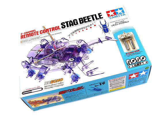 Tamiya ROBO Model Craft Mechanical 2 Channel Remote Control Stag Beetle 71119