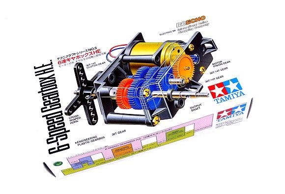 Tamiya Dynamic Model Educational 6-Speed Gearbox H.E.72005