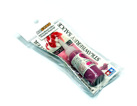 Tamiya Decoration Series Dessert Topping Master (Strawberry Sauce) Net 20ml 76642