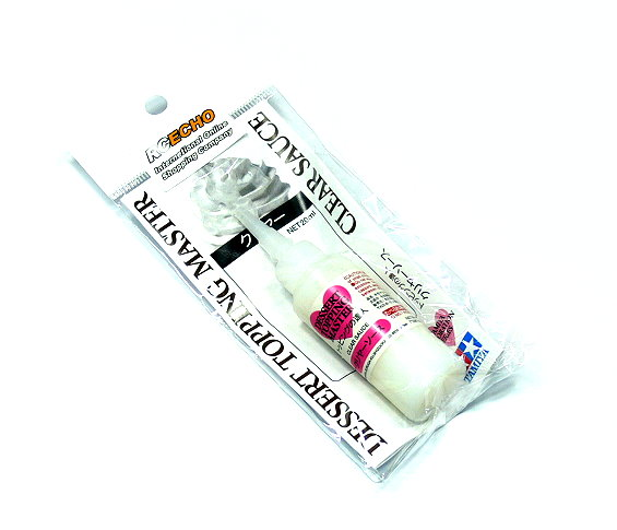 Tamiya Decoration Series Dessert Topping Master (Clear Sauce) Net 20ml 76646