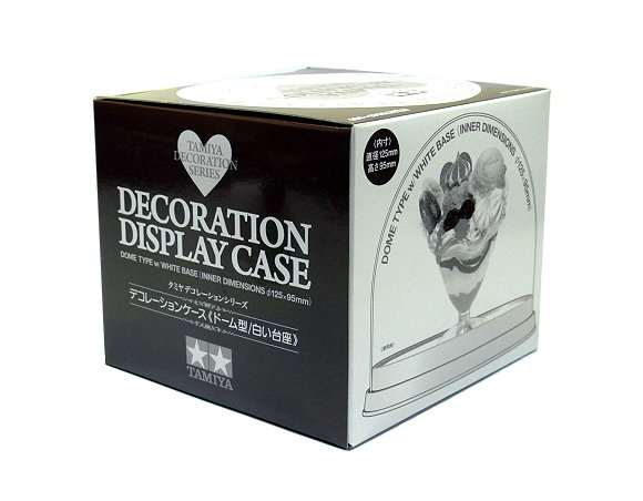 Tamiya Decoration Series Display Case Dome Type w/White Base 76648