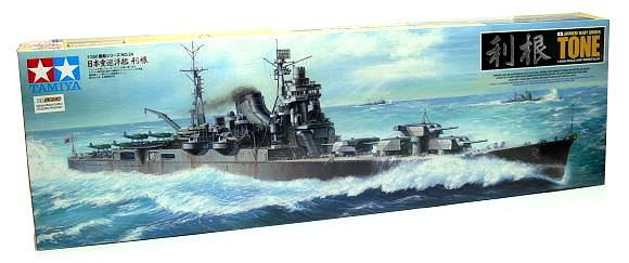 Tamiya Military Model 1/350 War Ship Japanese Heavy Cruiser TONE Hobby 78024