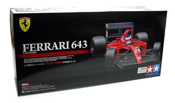 Tamiya EP RC Car 1/10 FERRARI 643 F104W High Performance Racing Car 84194