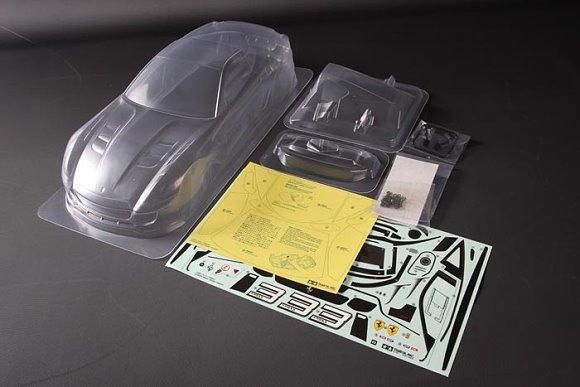 Tamiya RC Car Body 1/10 Scale R/C Ferrari 599X Lightweight Body Parts Set 84299