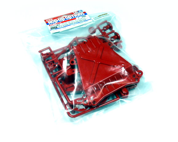 Tamiya Hop-Up Options CW-01 D Parts (Under Guard) Red Style 84345
