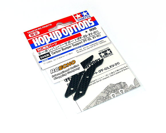 Tamiya Hop-Up Options Carbon Bumper Support (FF-03, XV-01) 84406