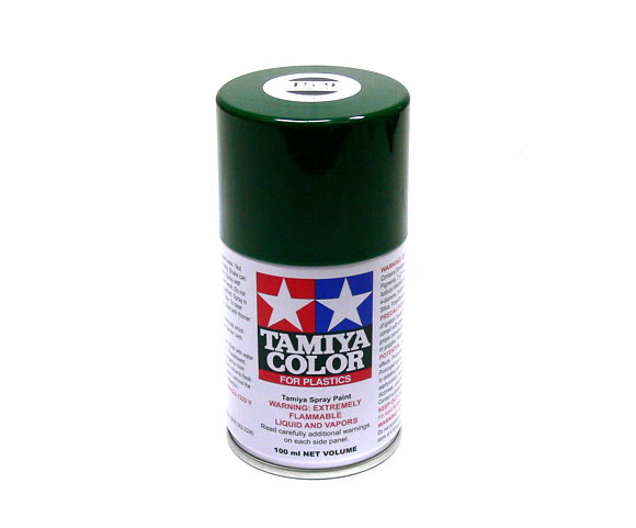 Tamiya Color Spray Paint TS-9 British Green Net 100ml for Plastics 85009