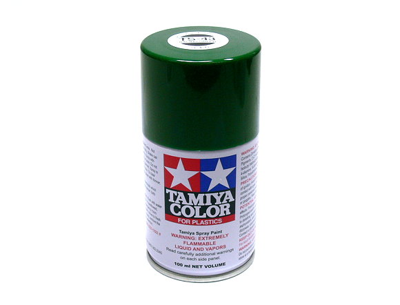 Tamiya Color Spray Paint TS-43 Racing Green Net 100ml for Plastics 85043