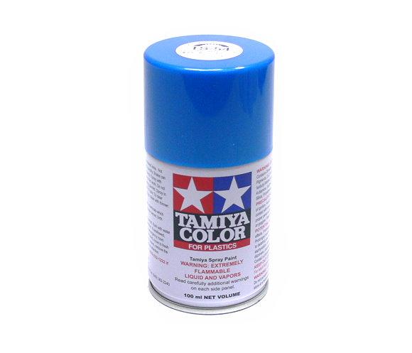 Tamiya Color Spray Paint TS-54 Light Metallic Blue Net 100ml for Plastics 85054