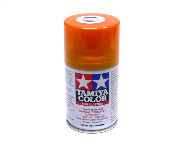 Tamiya Color Spray Paint Ts 73 Clear Orange Net 100ml For Plastics 85073