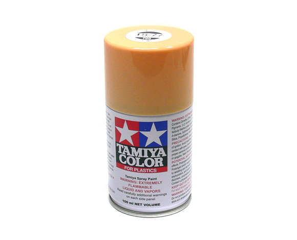 tamiya color spray paint ts 77 flat flesh net 100ml for plastics 85077 - Tamiya Color