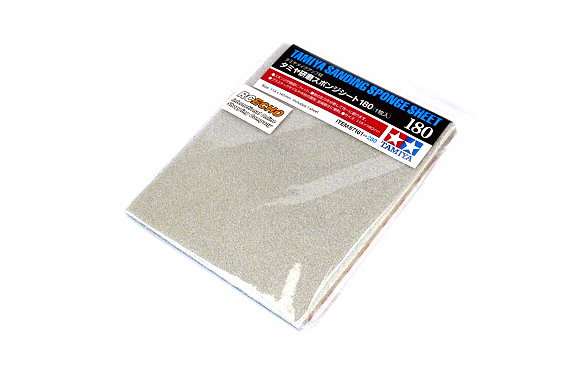 Tamiya Model Craft Tools Sanding Sponge Sheet 180 87161