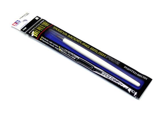 Tamiya Model Paints & Finishes Modeling Pointed Brush Pro II (Fine) 87174