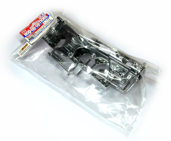 Tamiya Hop-Up Options WR-02 D Parts (Chassis, Chrome Plated) 92286