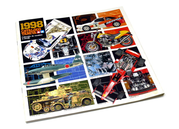 Tamiya RC Model Products Catalogo 1998 (Spanish) AC054