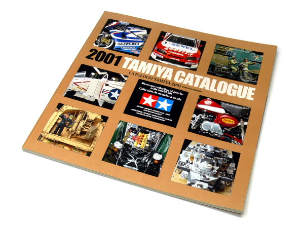 Tamiya RC Model Catalogue 2001 (English and Spanish) AC058