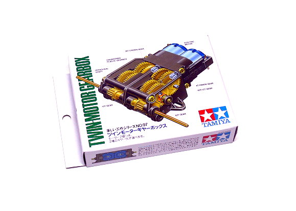 Tamiya Dynamic Model Educational Twin-Motor (Two Motor) Gearbox 70097