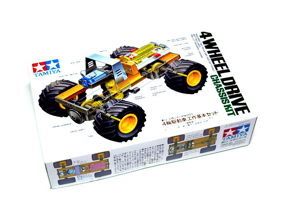 Tamiya Dynamic Model Educational 4 Wheel Drive Chassis Educ. Kit 70113