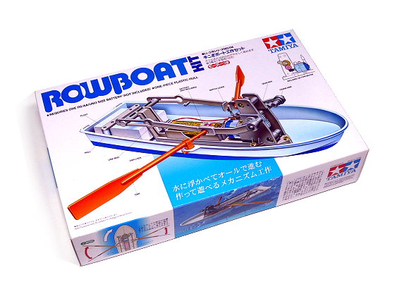 Tamiya Dynamic Model Educational Rowboat Motor Educational Kit 70114