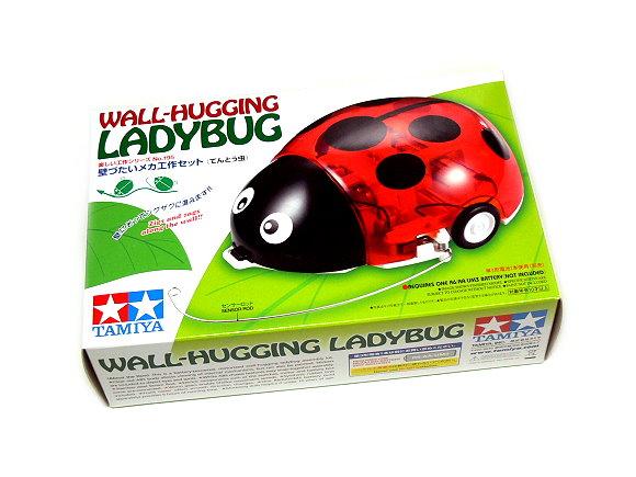 Tamiya ROBO Model Mechanical Wall Hugging Ladybug Robot Hobby 70195