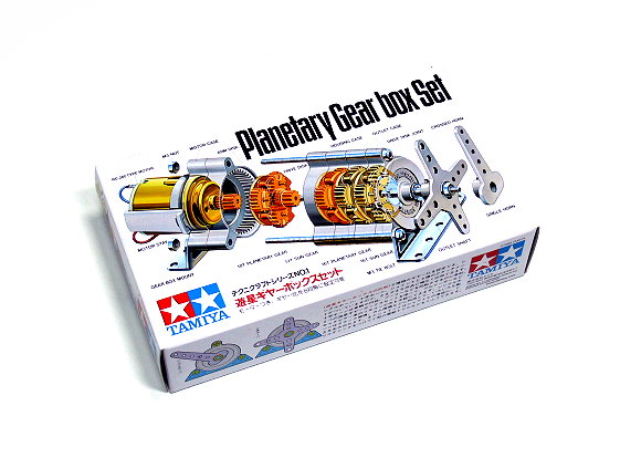 Tamiya Dynamic Model Educational Planetary Gearbox / Motor Set 72001