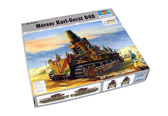 TRUMPETER Military Model 1/144 Morser Karl-Great 040 Scale Hobby 00101 P0101