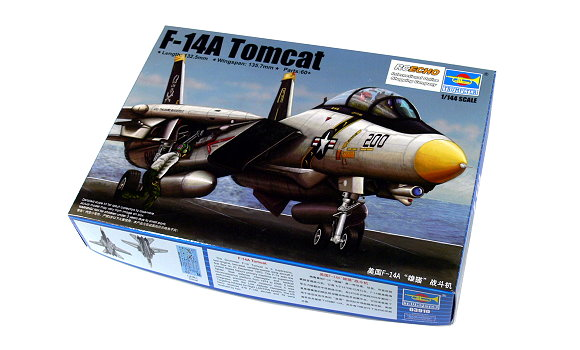 TRUMPETER Aircraft Model 1/144 F-14 Tomcat Scale Hobby 03910 P3910