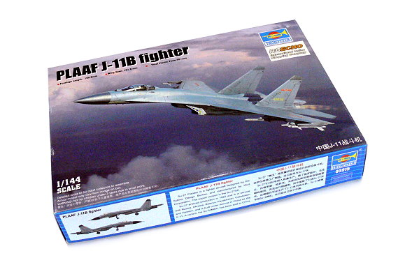 TRUMPETER Aircraft Model 1/144 PLAAF J-11B fighter Scale Hobby 03915 P3915