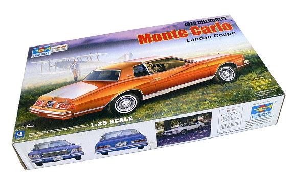 TRUMPETER Automotive Model 1/25 Car Chevrolet Monte Carlo Landau 02505 P2505