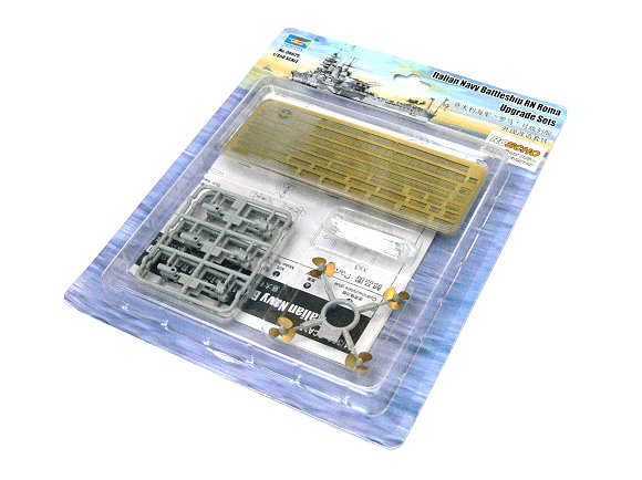TRUMPETER Military Model 1/350 War Ship Battleship RN Roma Upgrade 06625 P6625