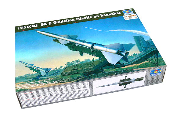 TRUMPETER Military Model 1/35 SA-2 Guideline Missile on Launcher 00206 P0206