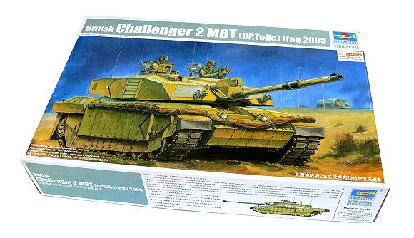 TRUMPETER Military Model 1/35 British Challenger 2 MBT Iraq 2003 00323 P0323