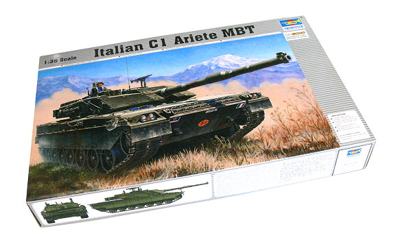 TRUMPETER Military Model 1/35 Italian C1 Ariete MBT Scale Hobby 00332 P0332