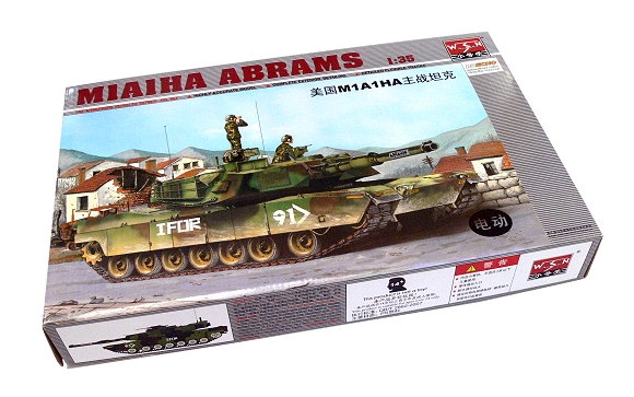 TRUMPETER Military Model 1/35 M1A1HA ABRAMS Scale Hobby 00334 P0334
