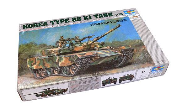 TRUMPETER Military Model 1/35 KOREA TYPE 88 1 Tank Scale Hobby 00343 P0343