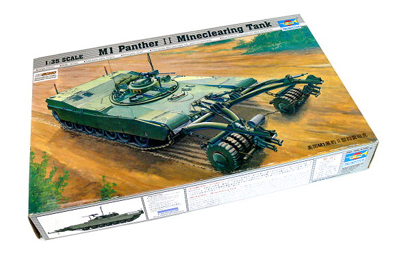 TRUMPETER Military Model 1/35 M1 Panther II Mineclearing Tank Hobby 00346 P0346