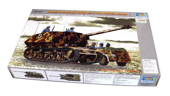 TRUMPETER Military Model 1/35 German Panzerjager 39(H) mit Pak40/1 00354 P0354