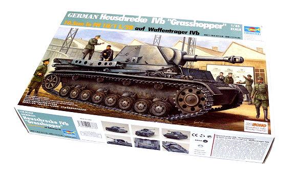 TRUMPETER Military Model 1/35 German Heuschrecke Ivb Grasshopper 00373 P0373